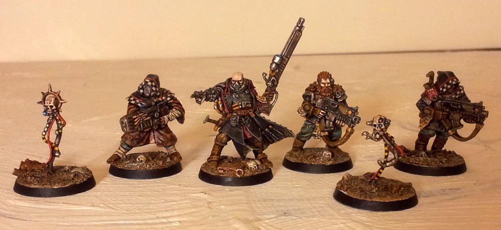Henchmen, Inquisition, Inquisitor, Servo-skull