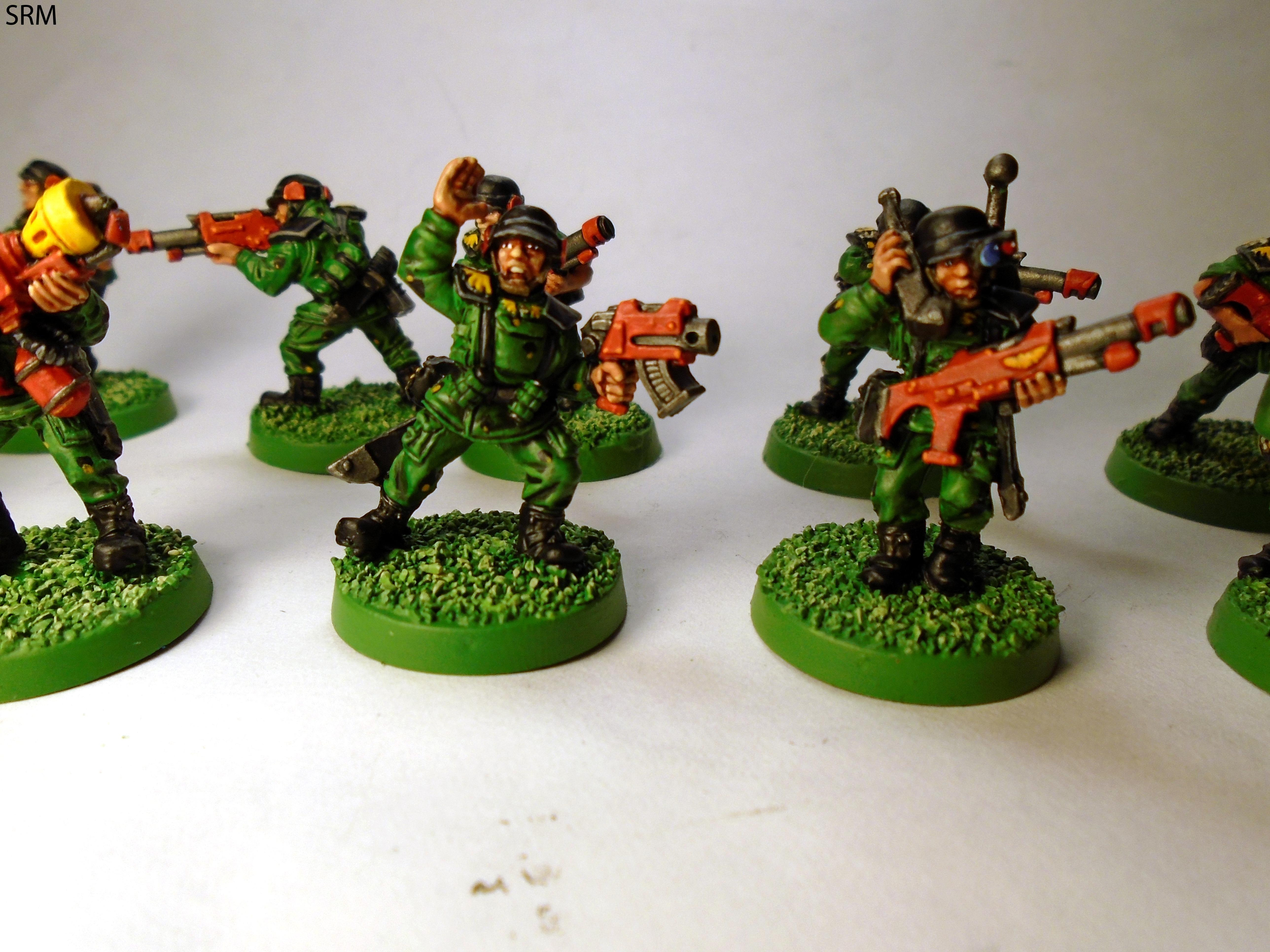 2nd Edition, Cadians, Imperial Guard, Out Of Production, Retro