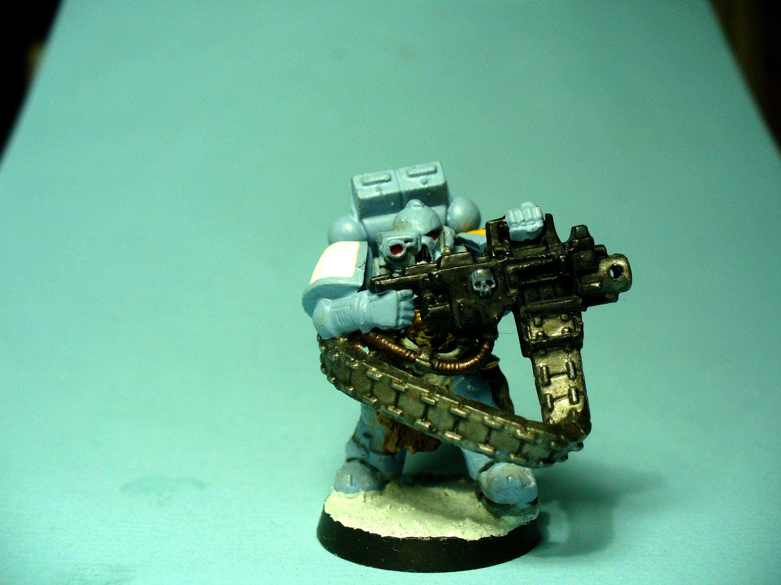 Classic Miniature, Conversion, Devastator, Space Wolves, Warhammer 40,000