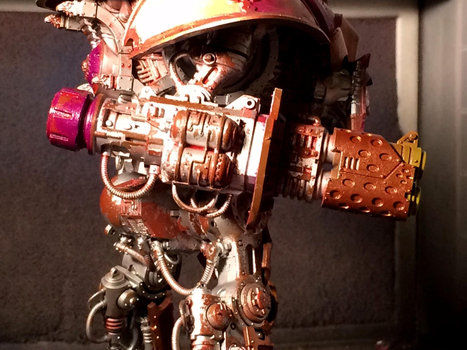 Chaos, Games Workshop, Knight Titan, Rust