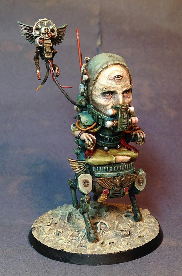 Big Head, Blanchitsu, Conversion, Kitbash, Navigator, Scratch Build, Sculpting