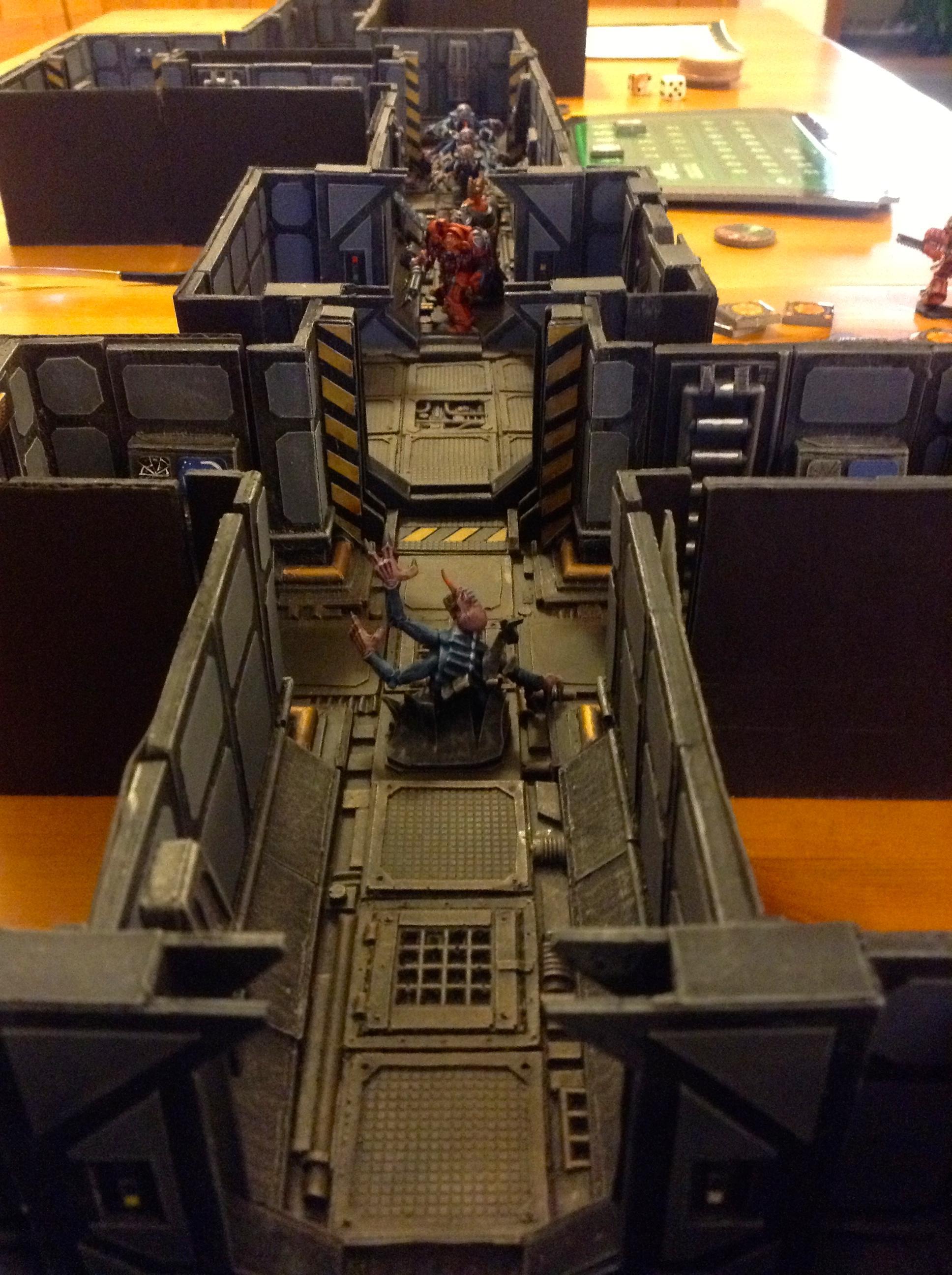 Board Game, Genestealer, Scifi, Space Hulk, Terminator Armor, Terrain