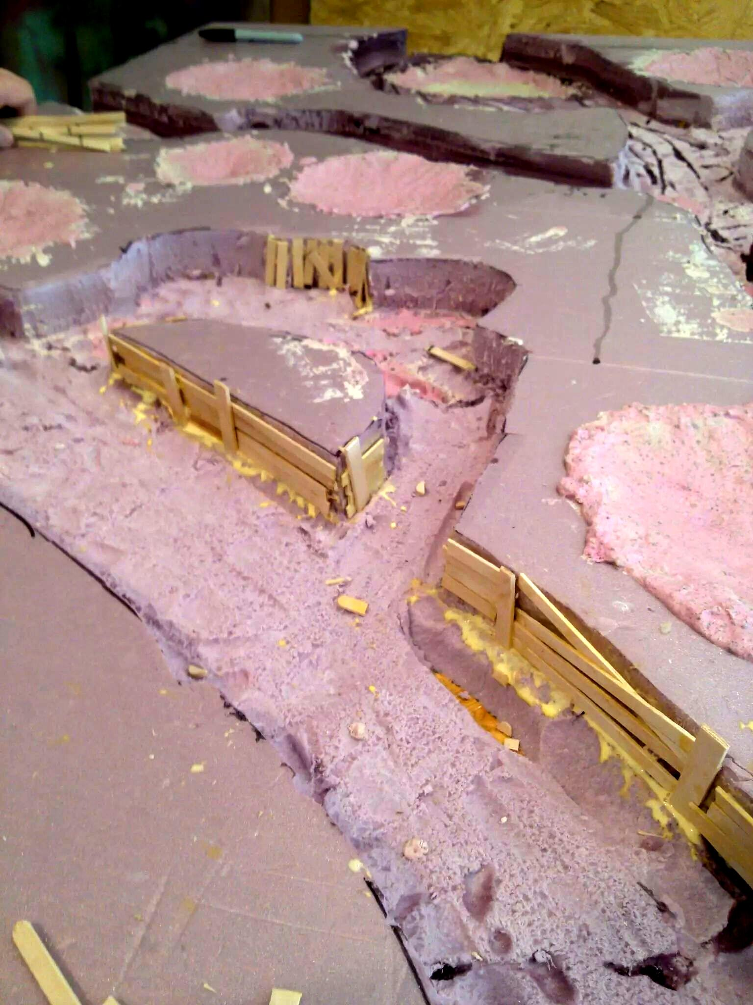 Terrain, Trenches