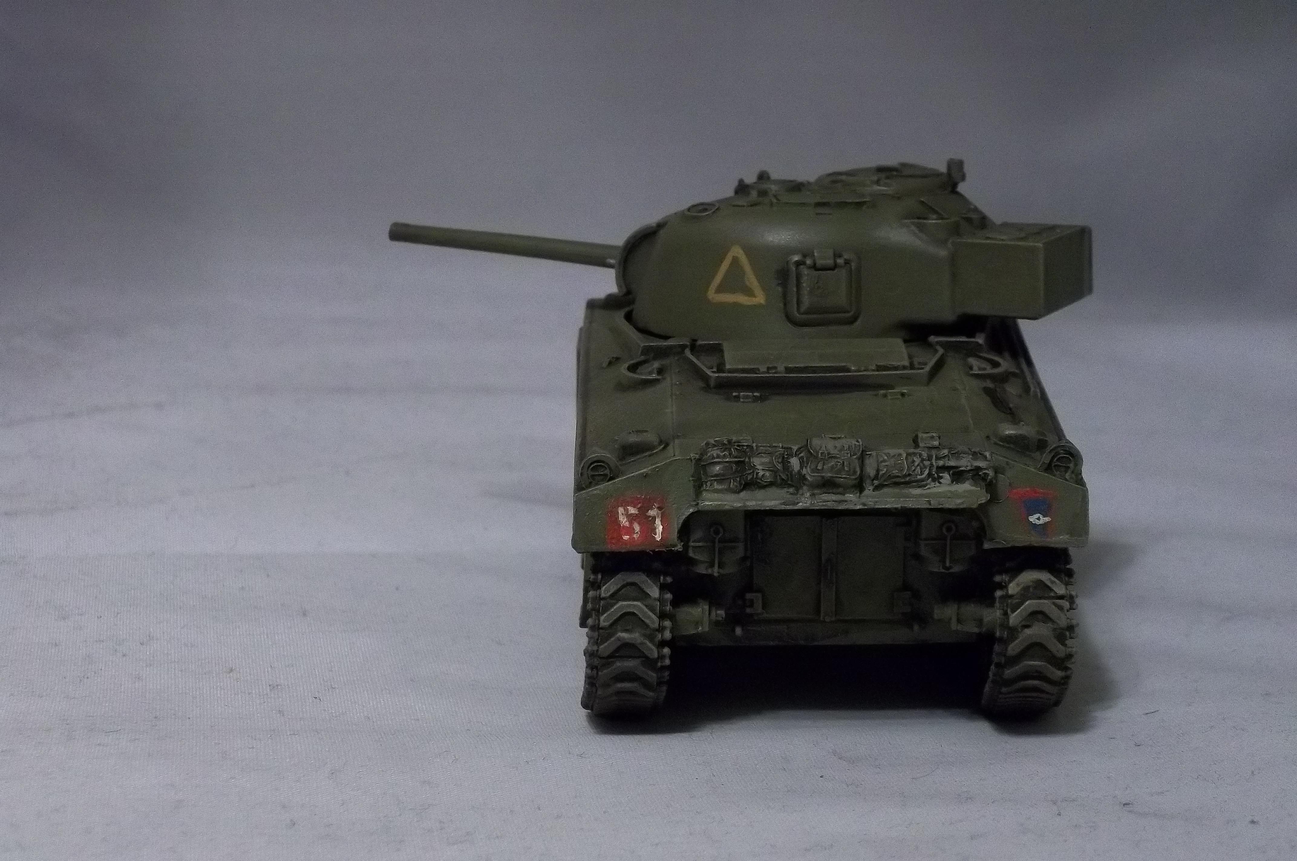 1/48th, Blitzkrieg Miniatures, Bolt Action, British, Sherman Tank, Sherman V, World War 2