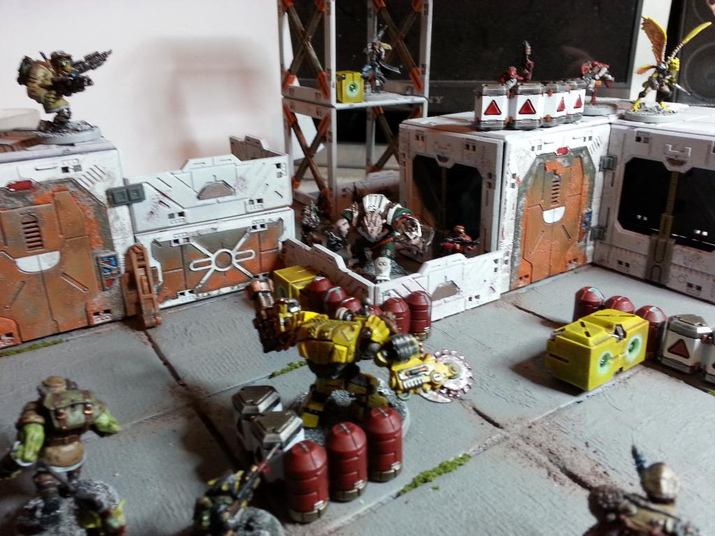 Board, Deadzone, Marauders, Rebs, Terrain