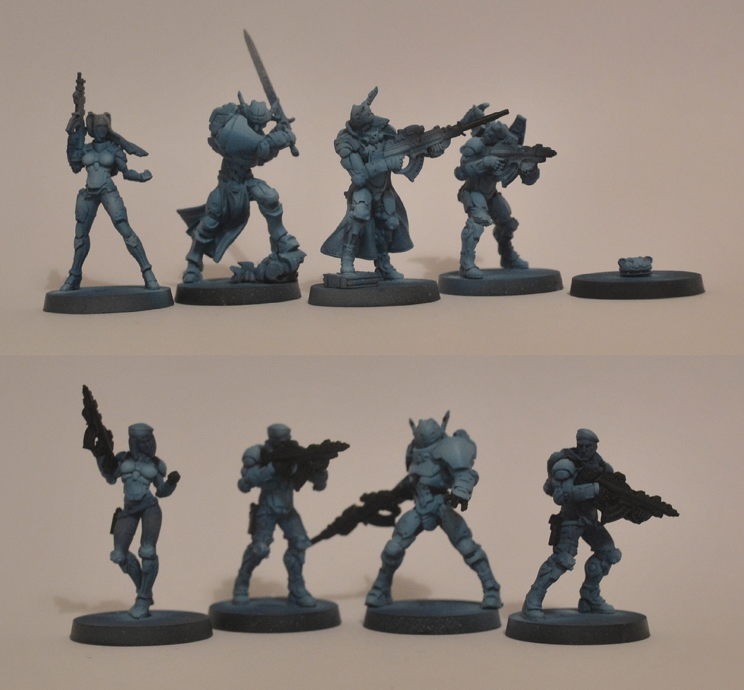 Father Knights, Fusiiliers, Infinity, Operation Icestorm, Pano, Panoceania