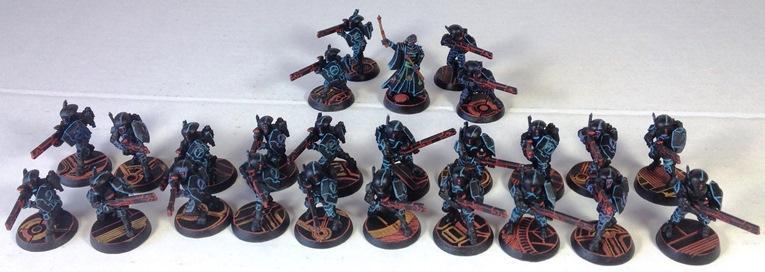 Fire Warriors, Tau, Tron