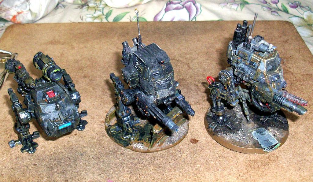 Conversion, Imperial Guard, Proxy, Rats, Robogear, Salamander, Tehnolog, Tunnel War, Walker, Warhammer 40,000