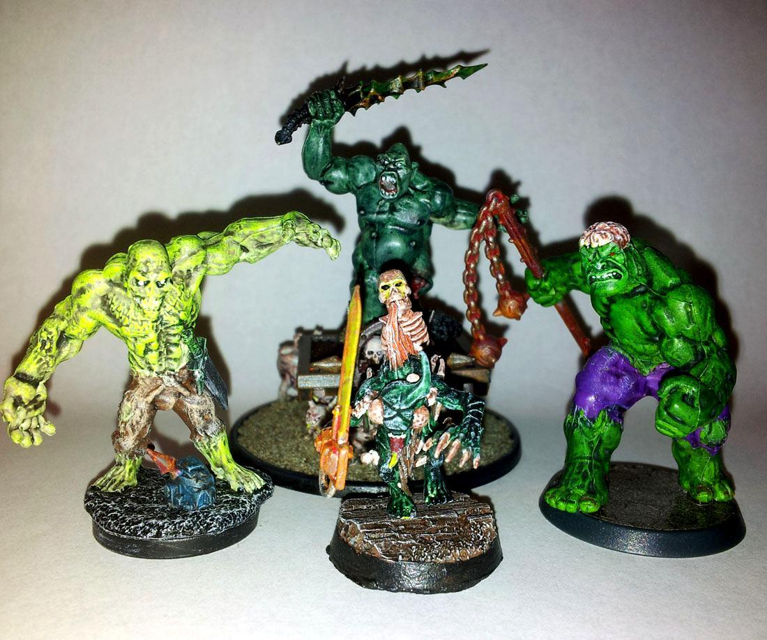 Heralds, Hulk, Nurgle, Zombie