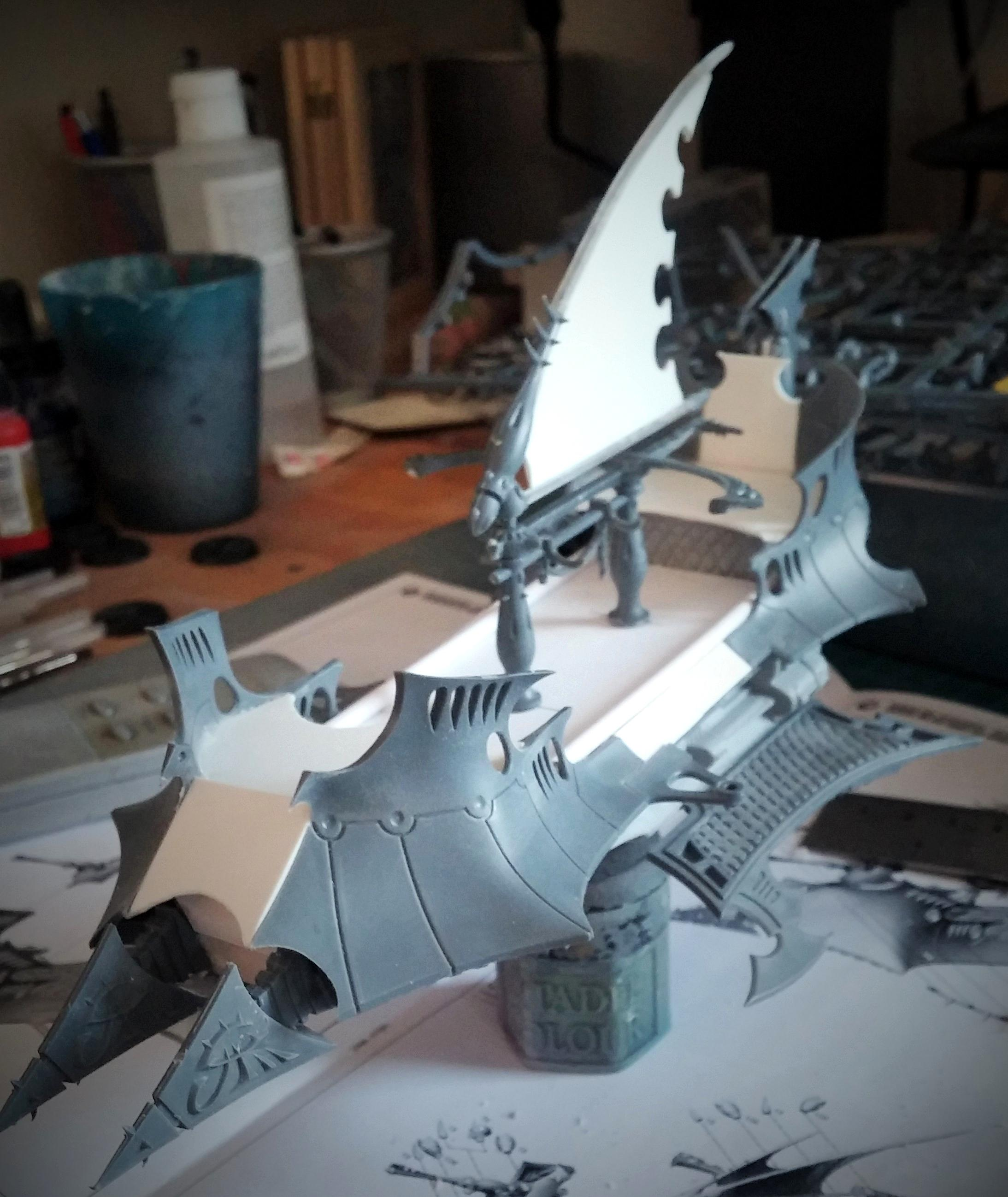 Asdrubael, Dais, Dark Eldar, Destruction, Vect, Vects Dais Of Destruction Wip, Work In Progress
