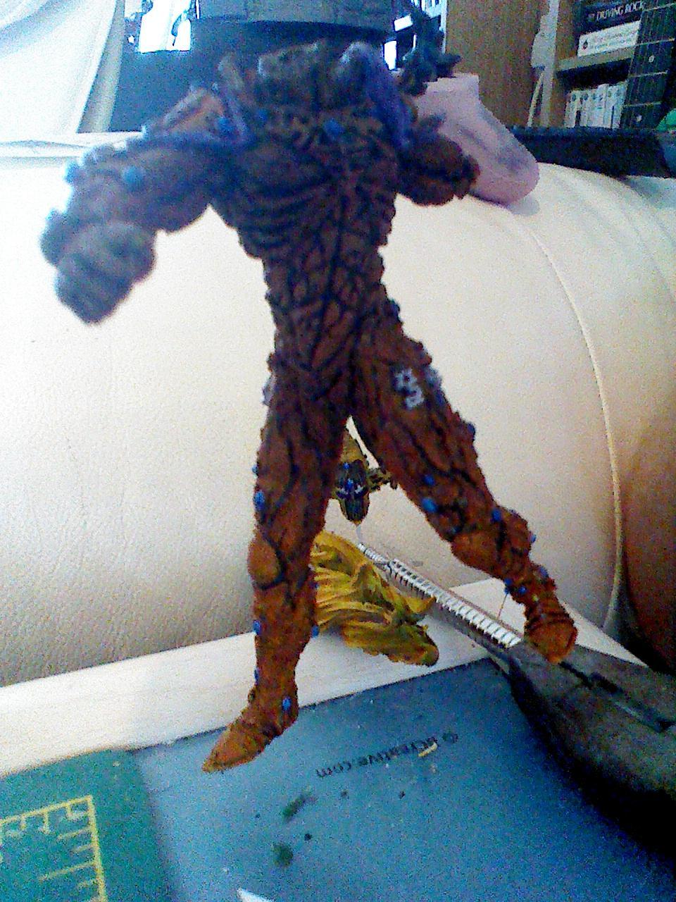 Avatar, Eldar, Forge World, Lugganath, Silvermk2, Work In Progress