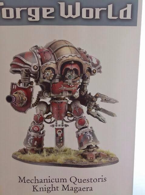 Europe Open Day, Forge World, Imperial Knights, Mechanicum Questoris Knight Magera