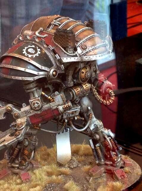 Europe Open Day, Forge World, Imperial Knight, Mechanicum Questoris Knight Magera