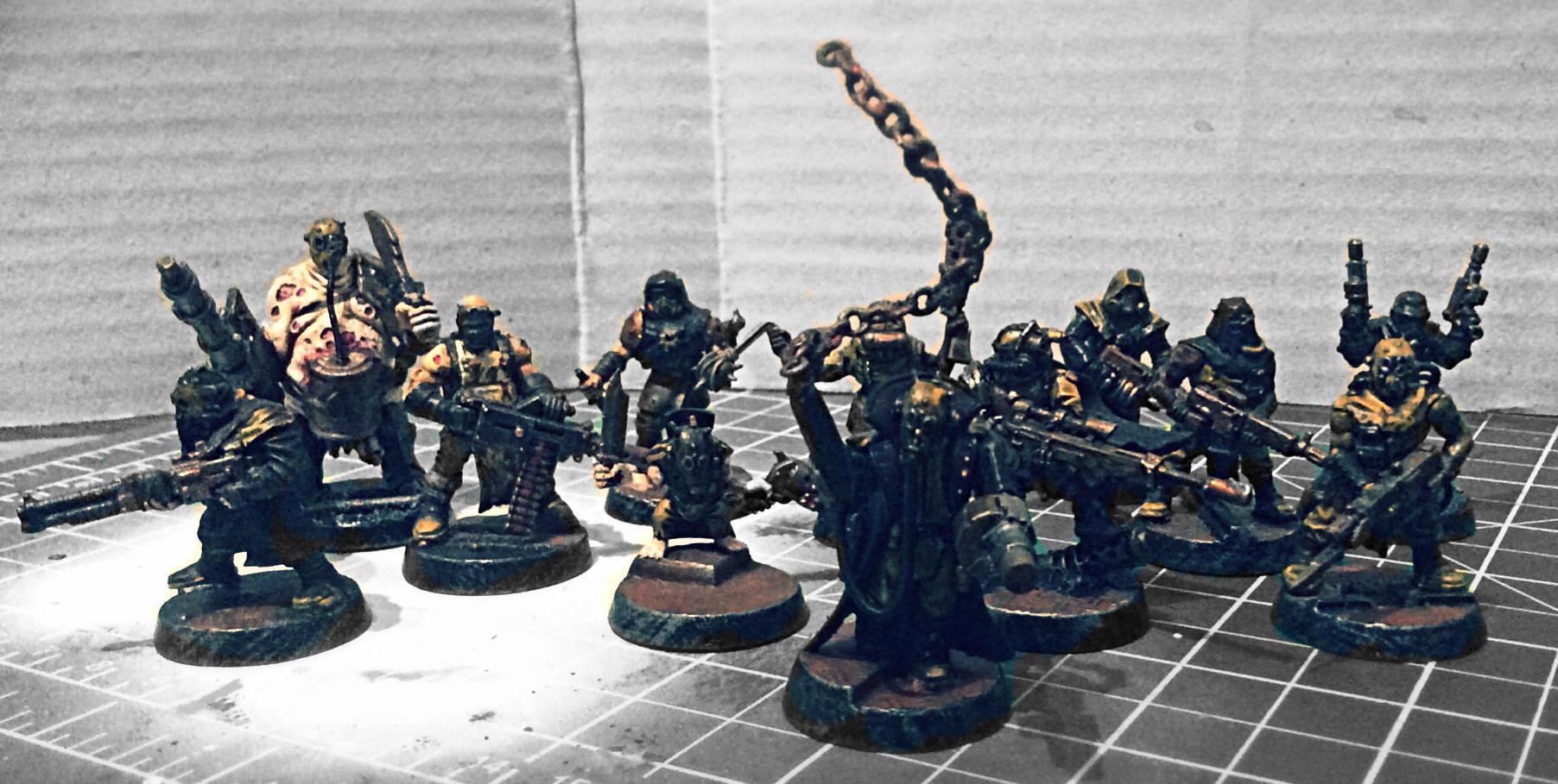 Chaos, Cultists, Ganger, Grimdark, Necromunda, Orlock, Warhammer 40,000
