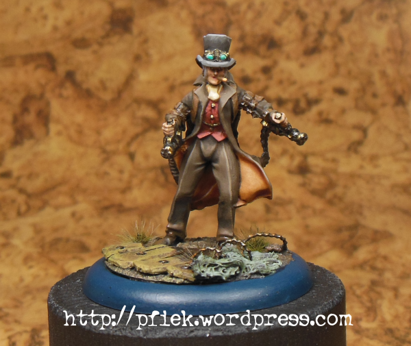 Character, Dystopian Legions, Federated States Of America, Fsa, Spartan Games, Steampunk