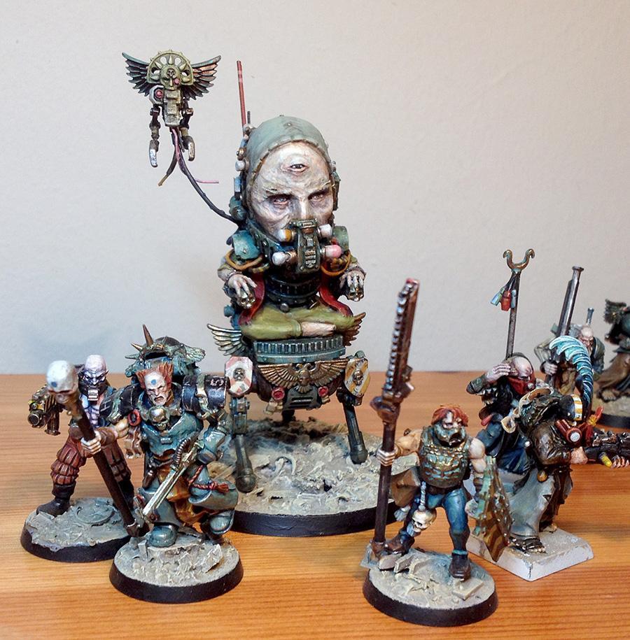Household, Navigator, Novator, Retinue, Warhammer 40,000