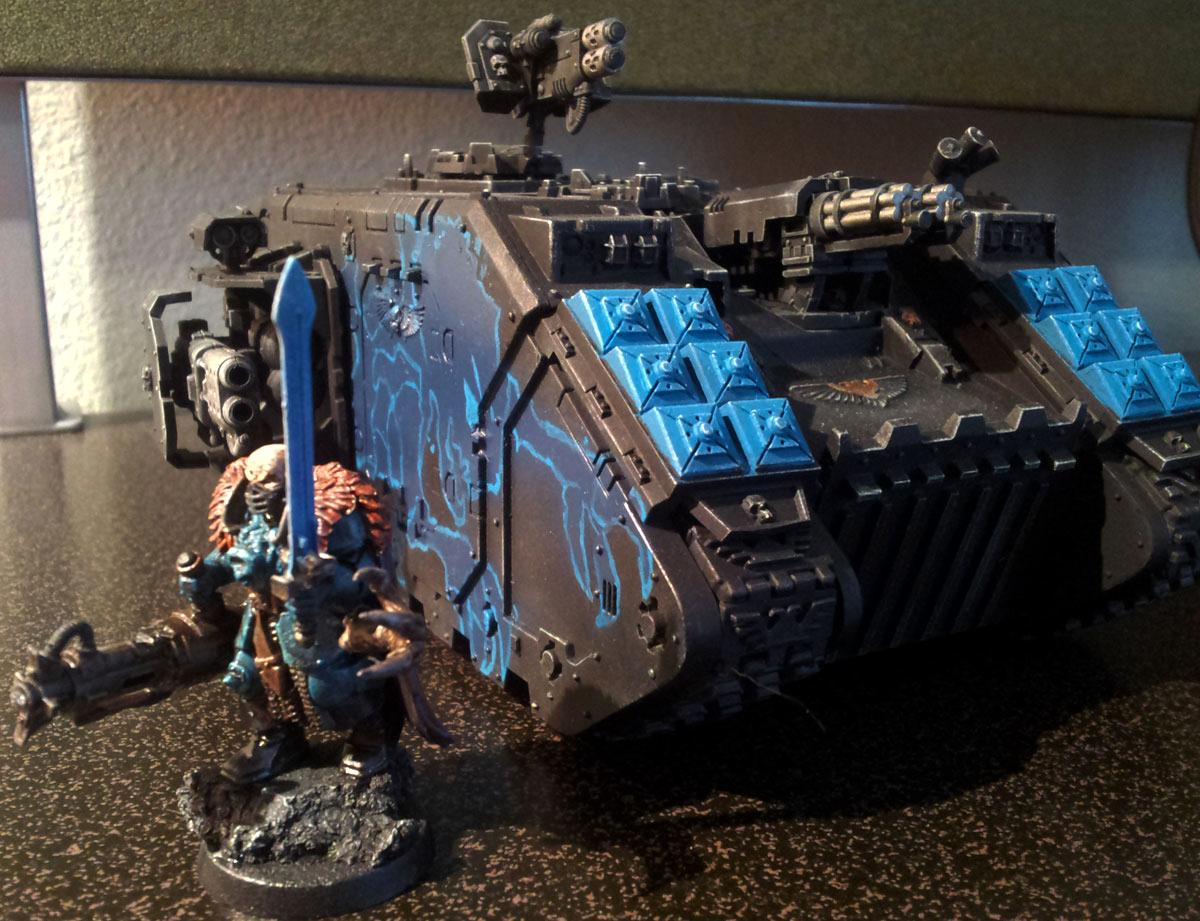 Genestealer Cult, Inquisition Counts As, Land Raider, Ordo Xenos