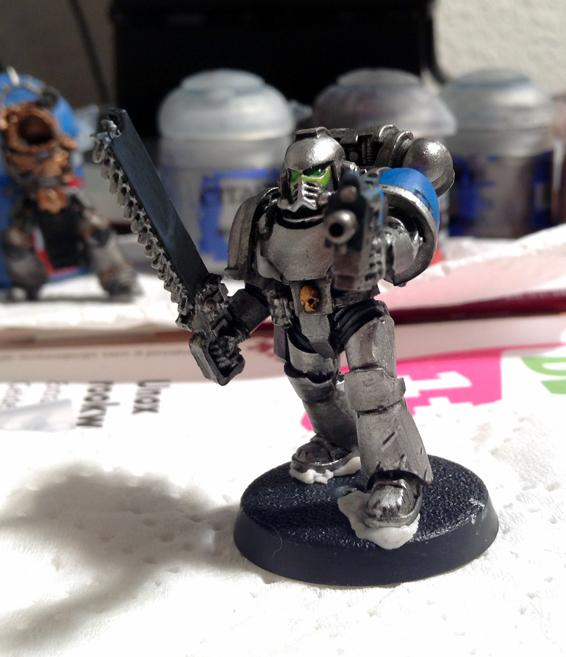 Assault Squad, Astral Claws, Space Marines, Work In Progress