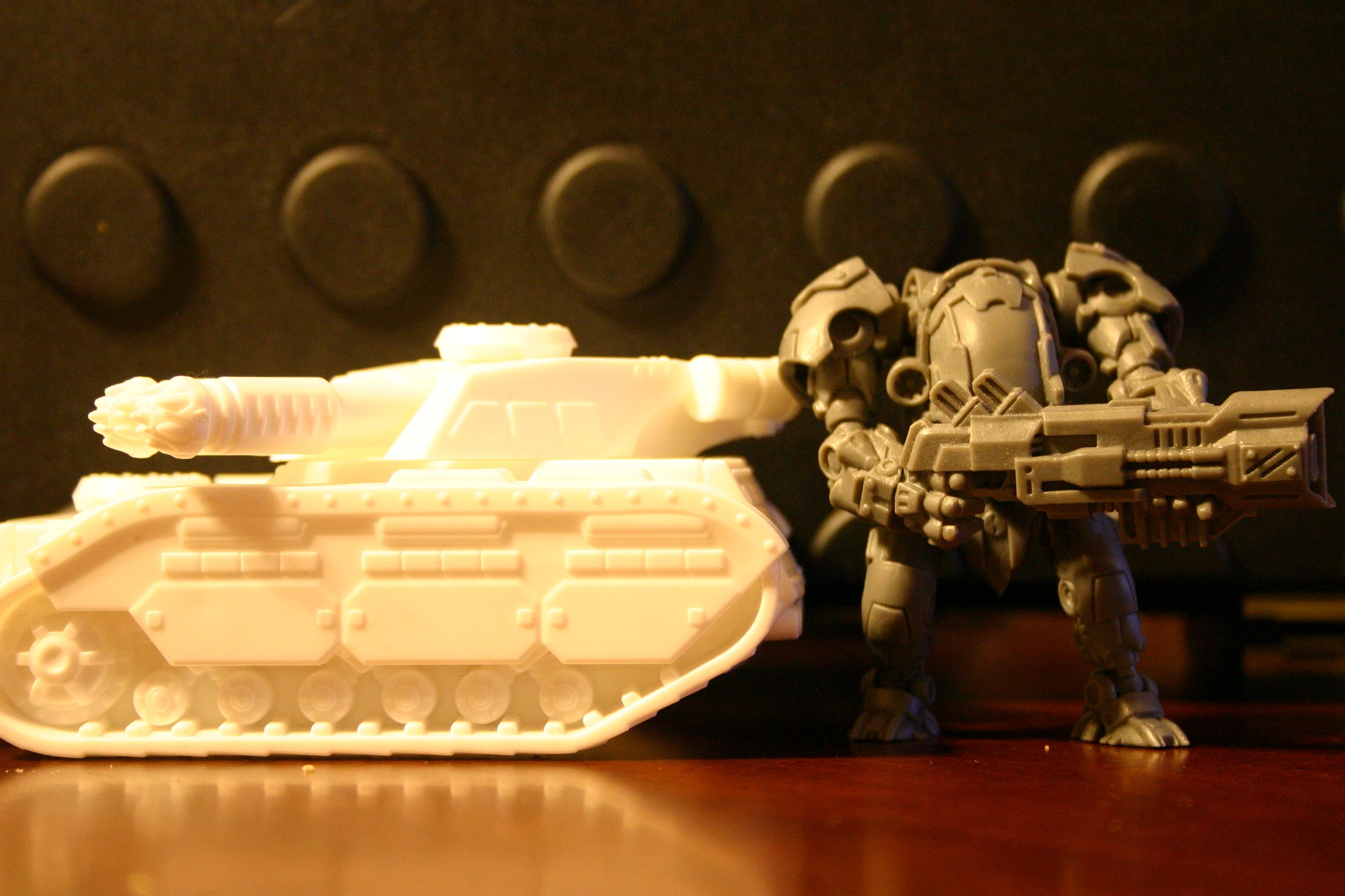 Bronekorpus, Tank, Tehnolog