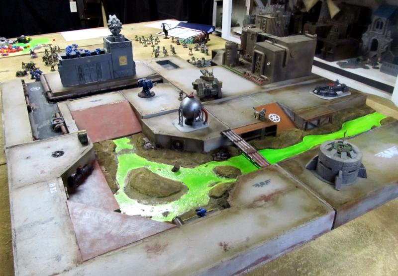 game board gaming board imperial terrain 40k board warhammer