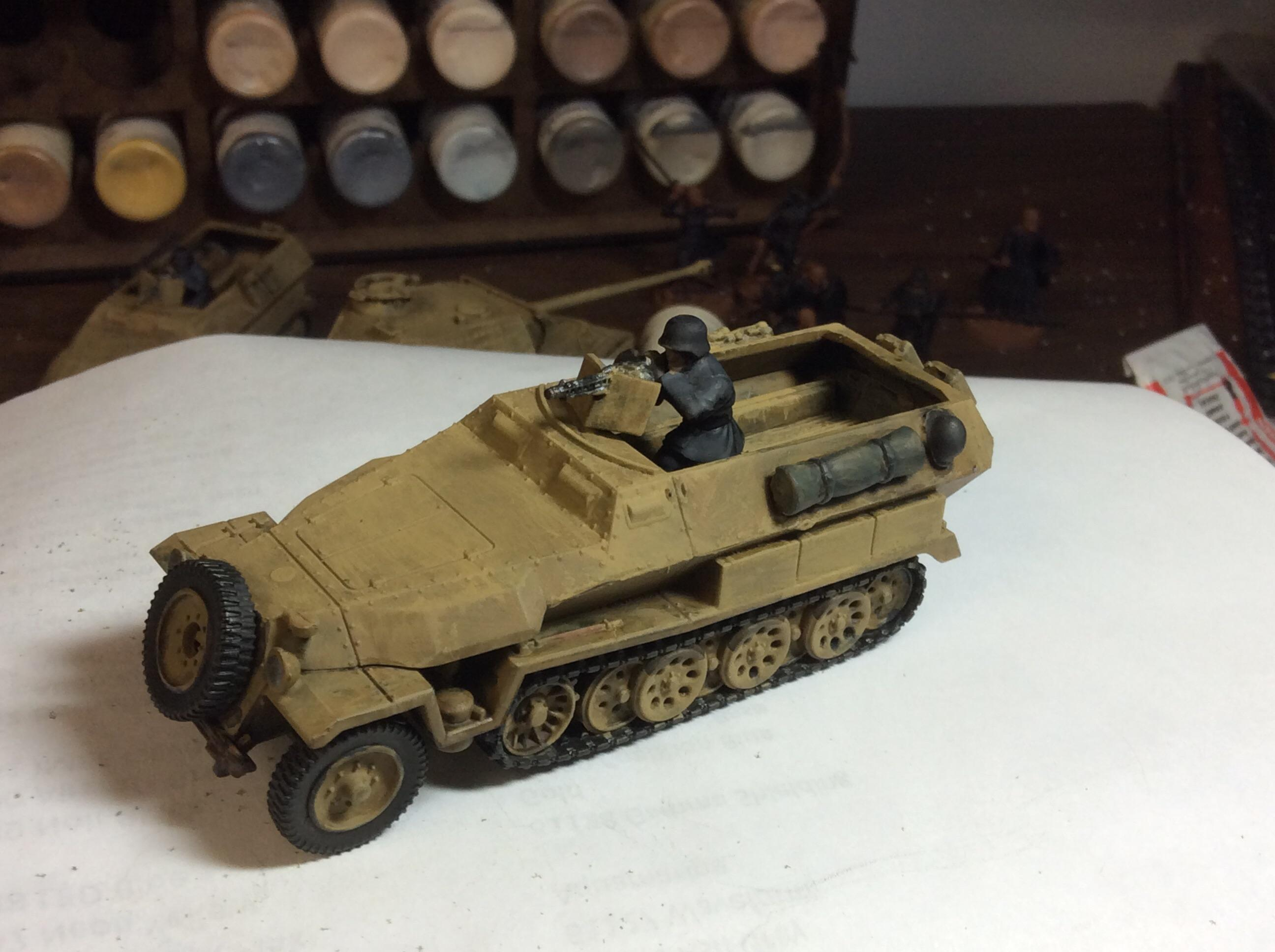 Bolt Action, Germans, Half-track, Hanomag, Panther