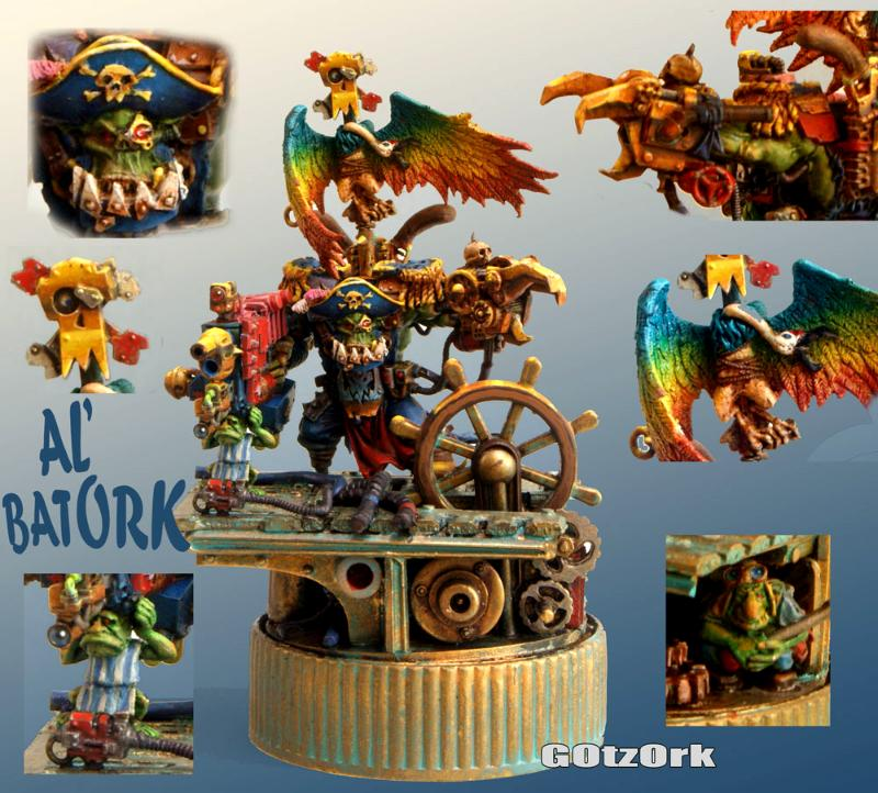 Flashgitz, Freebooter, Orks, Pirate, Space Orc, Wk40