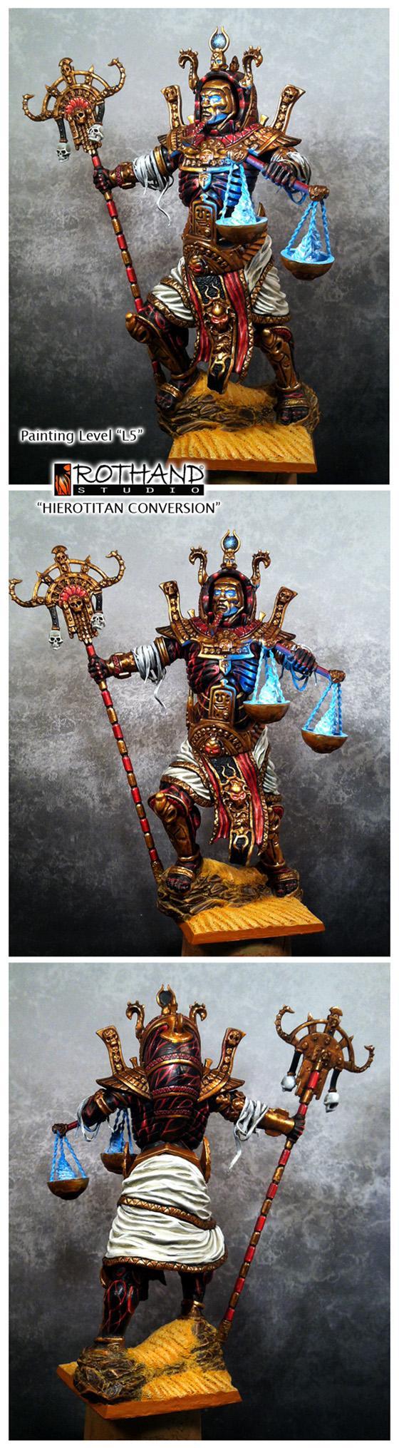 Bone Giant, Hierotitan, Hierotitan Conversion, Hierotitan Model, Necrosphinx, Tk, Tomb Kings