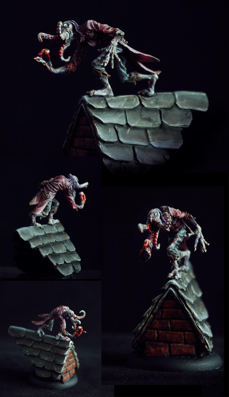 Conversion, Diorama, Horrors, Malifaux, Monster, Neverborn, Object Source Lighting, Wyrd