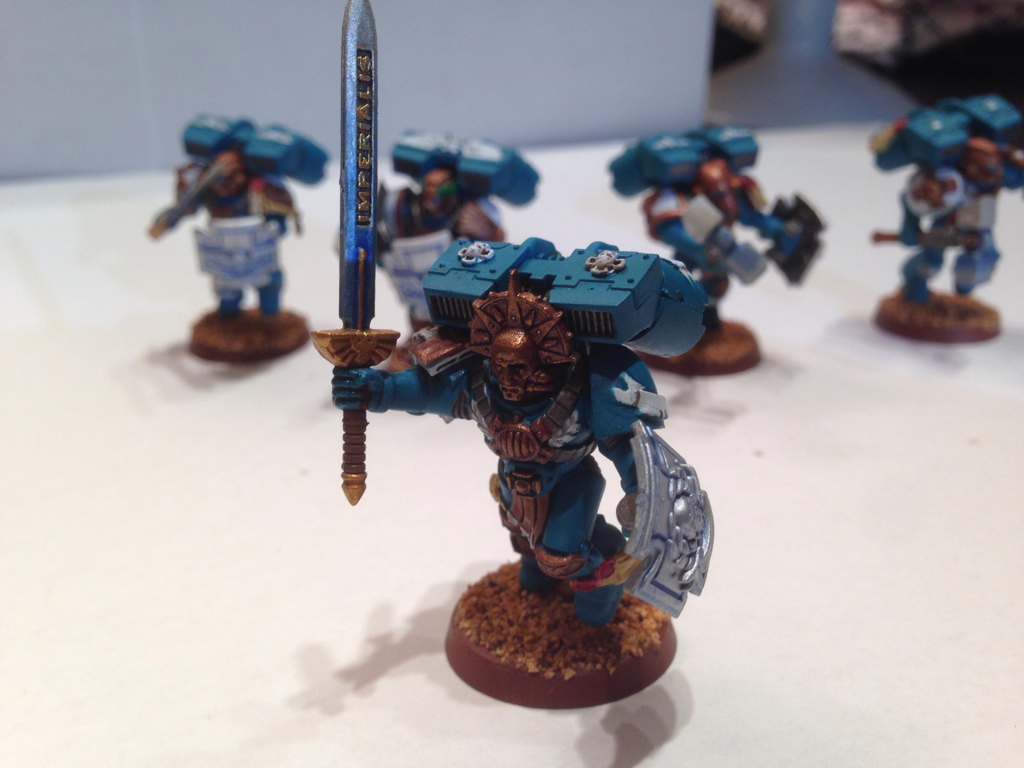 Assault, Death Mask, Relic Blade, Space Marines