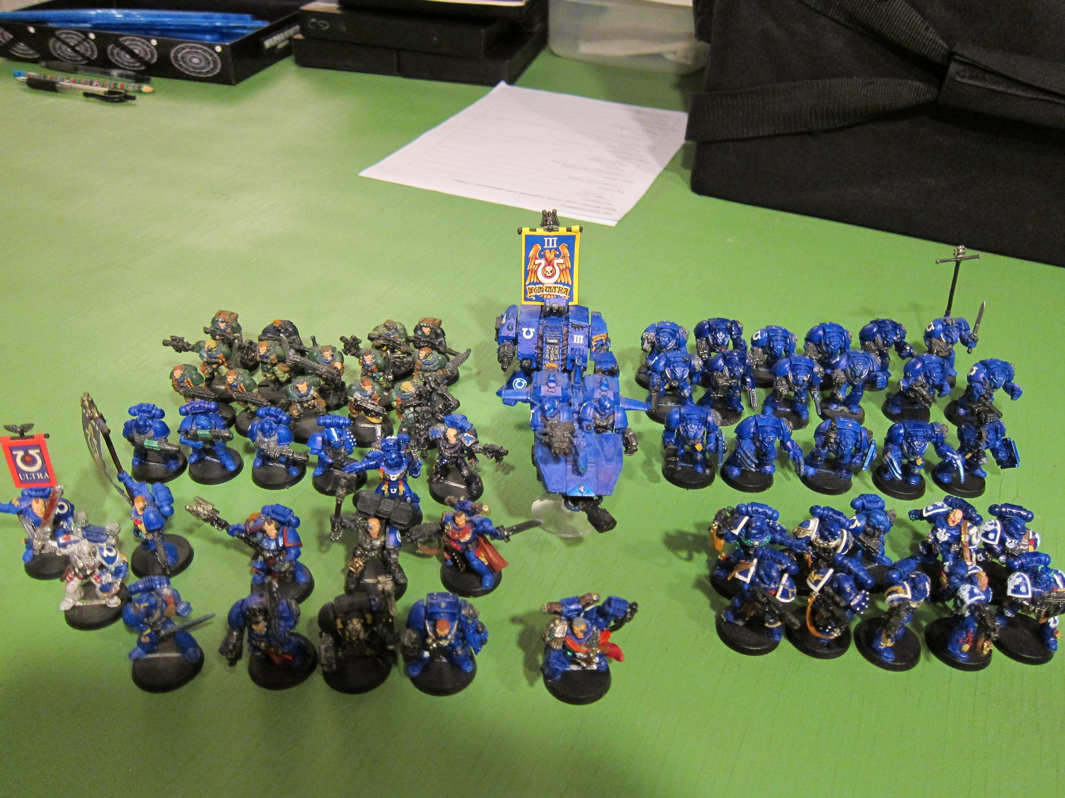 Calgar, Classic, Land Speeders, Metal, Old School, Space Marines, Terminator Armor, Ultramarines, White Metal