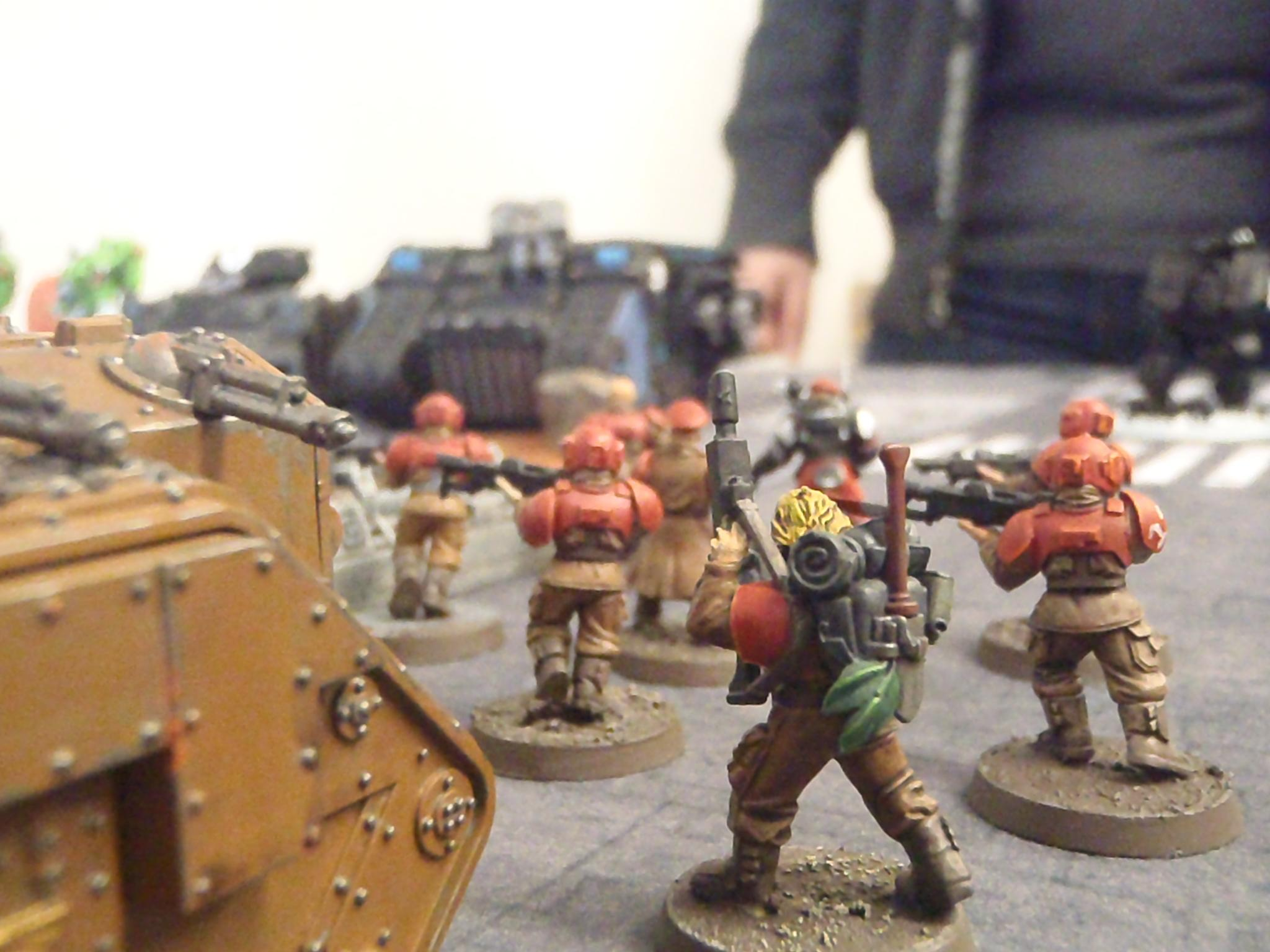 Battle Report, Imperial Guard