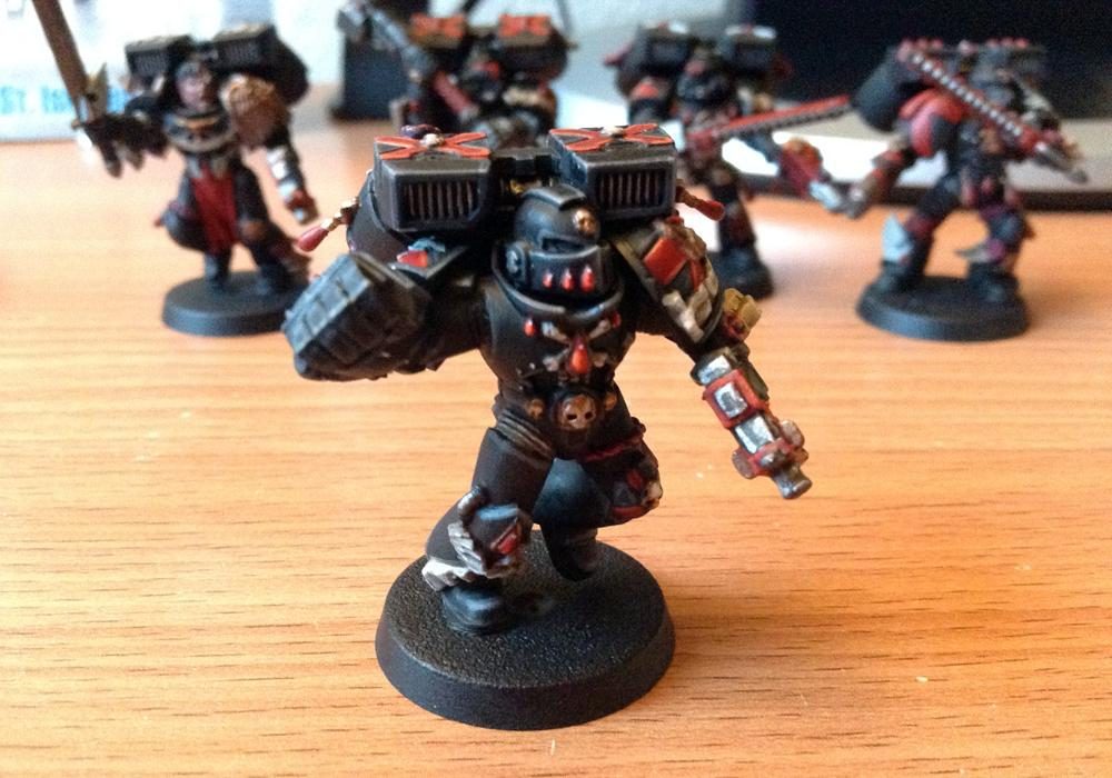 Blood Angels, Death Company, Space Marines, Work In Progress