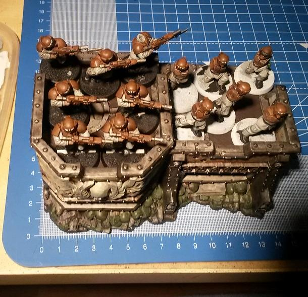 Bunker, Fortifications, Imperial Guard, Sizes, Wall Of Martyrs, Warhammer 40,000, Wom