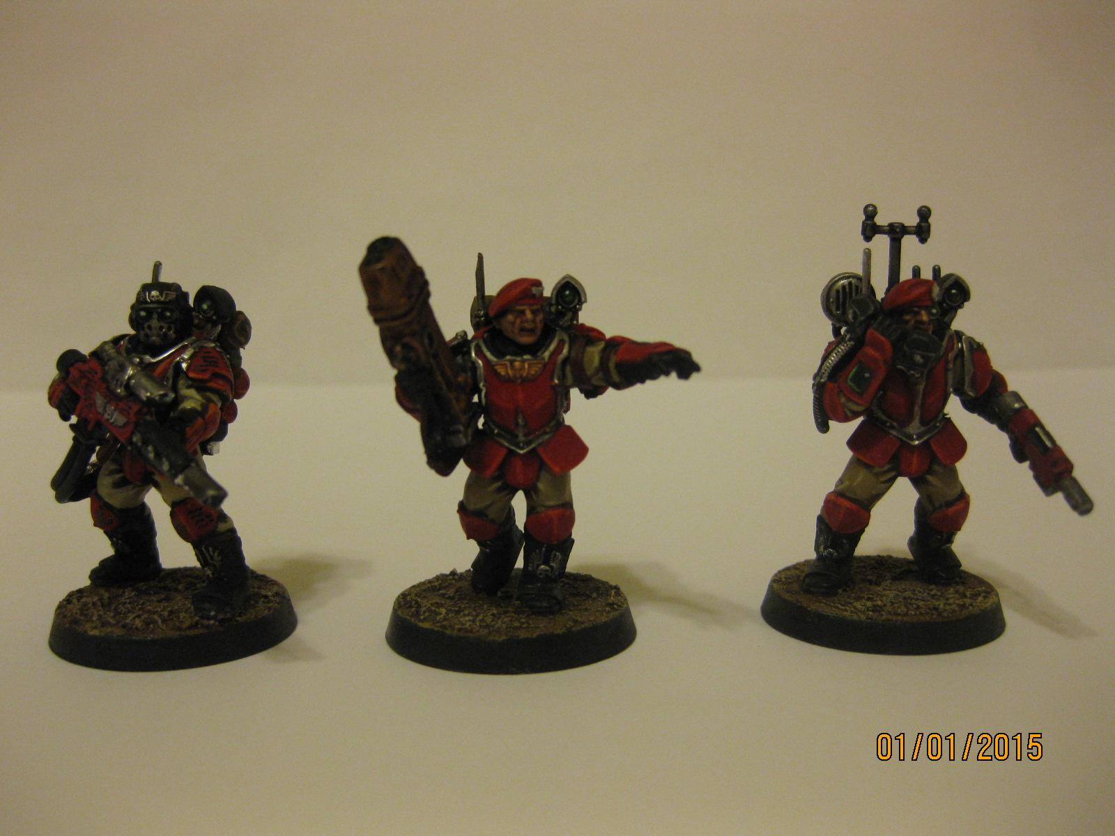 Imperial Guard, Scion, Storm Troopers