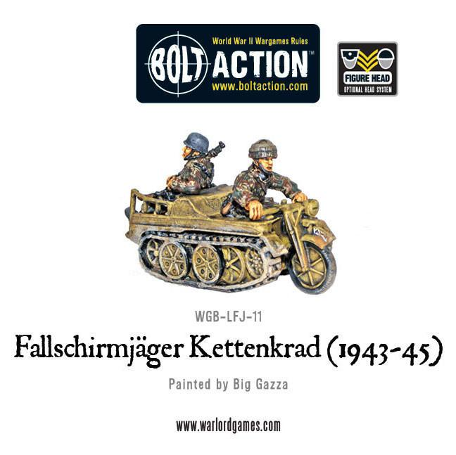 Bolt Action, Germans, Motorcycle, Warlord Games, World War 2