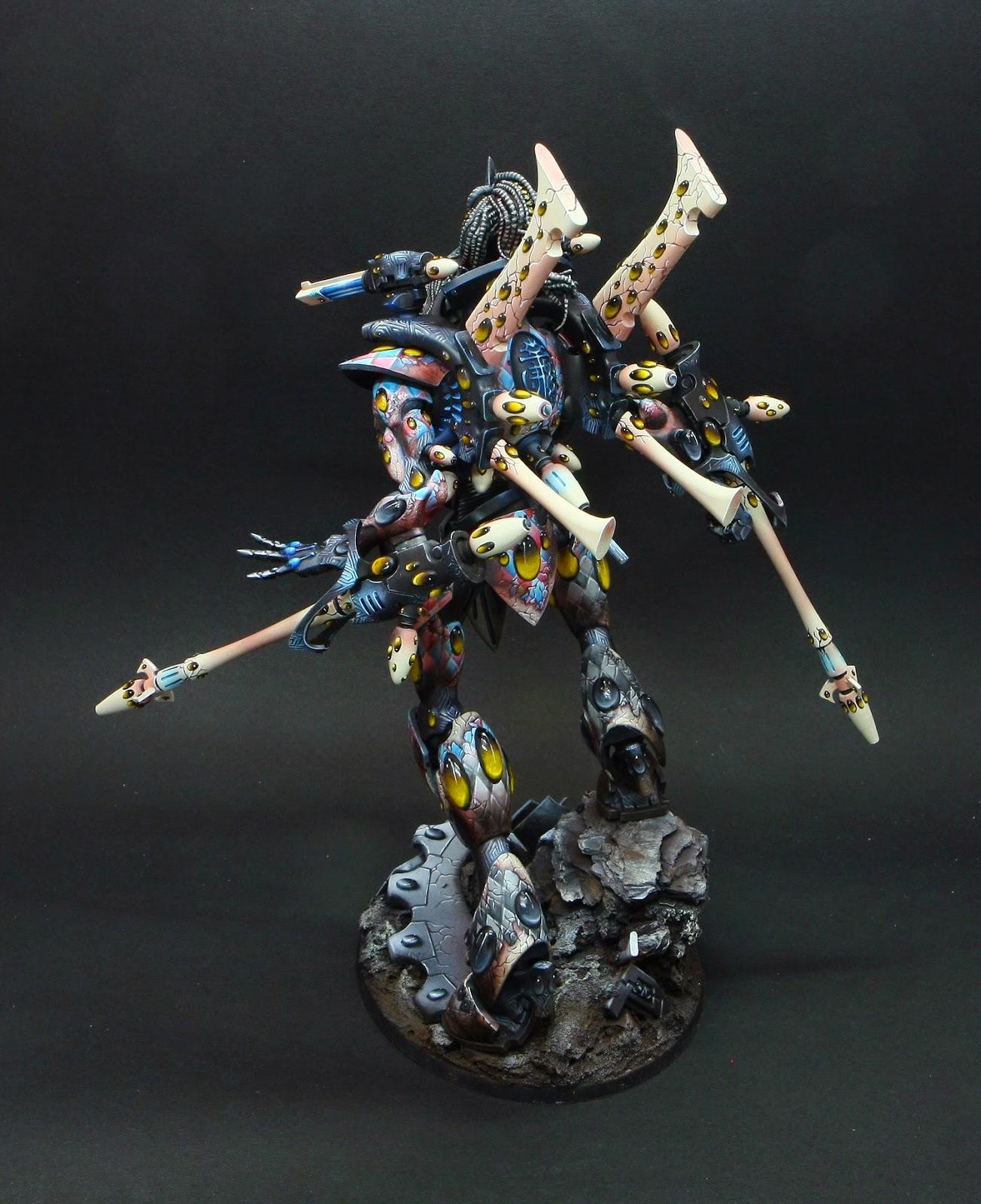 Eldar, Harlequins, Warhammer 40,000, Wraithknight