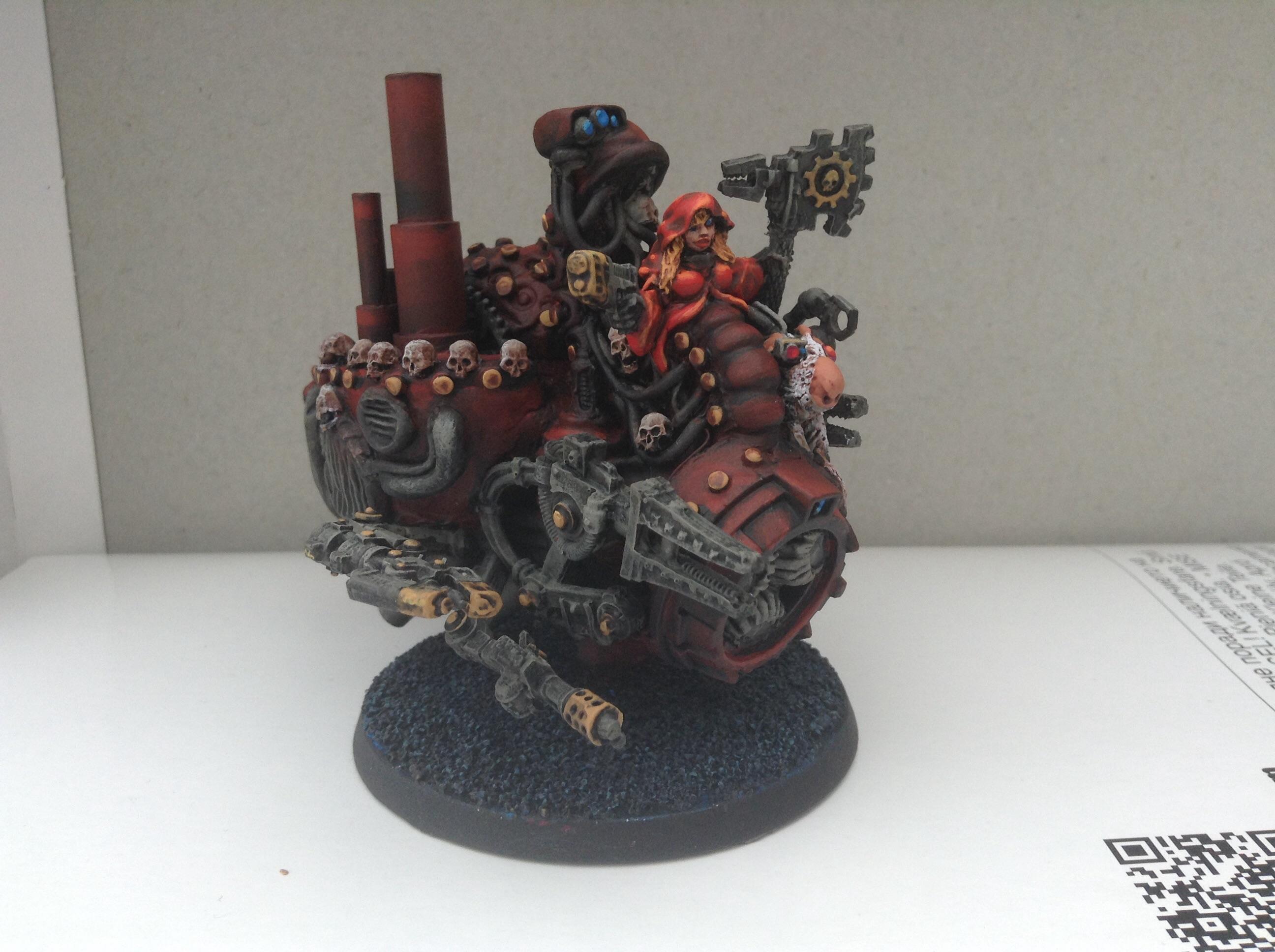 Adeptus Mechanicus, Jetbike, Mechanicum, Tech Priest