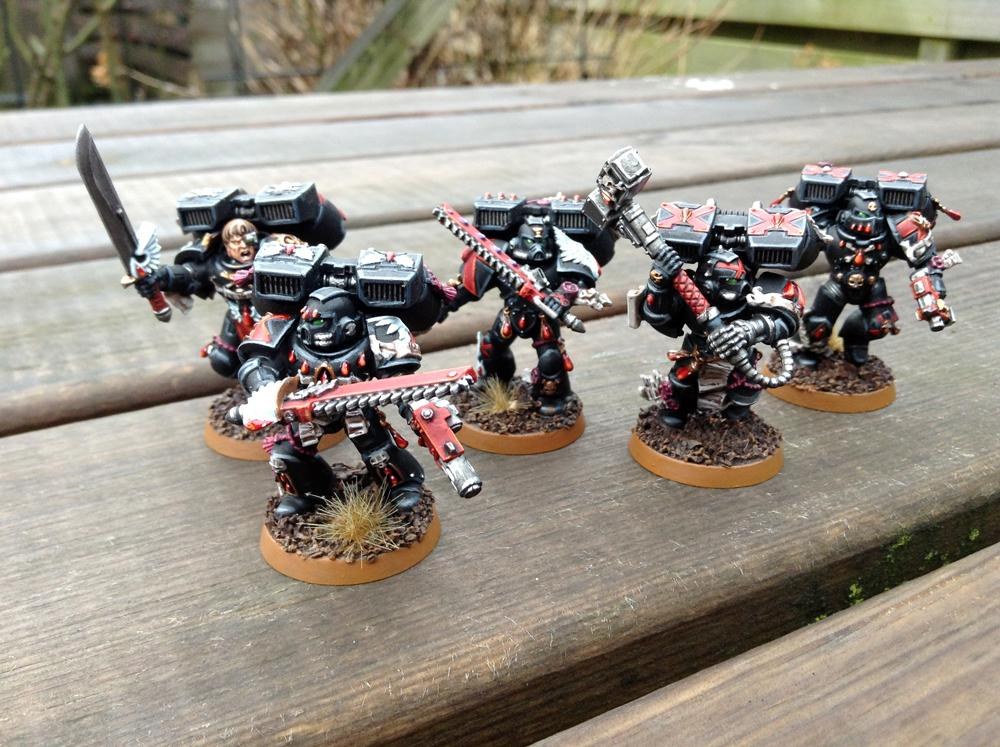 Adeptus Astartes, Assault Squad, Blood Angels, Death Company, Space Marines, Warhammer 40,000