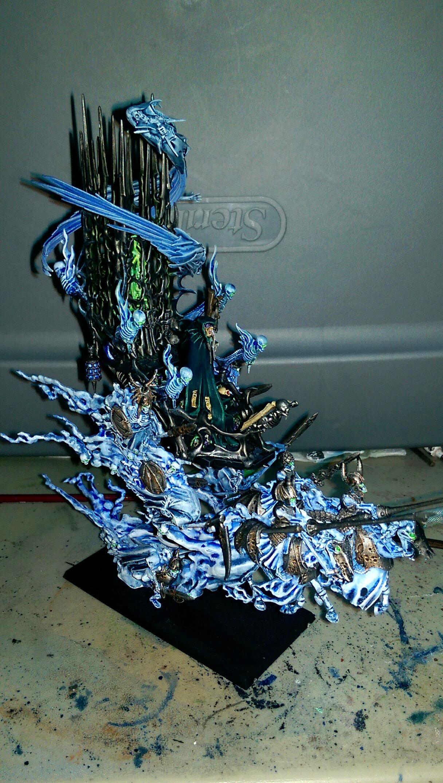Blue, Commissions, Mortis Engine, Spirits, Vampire Counts, Warhammer Fantasy