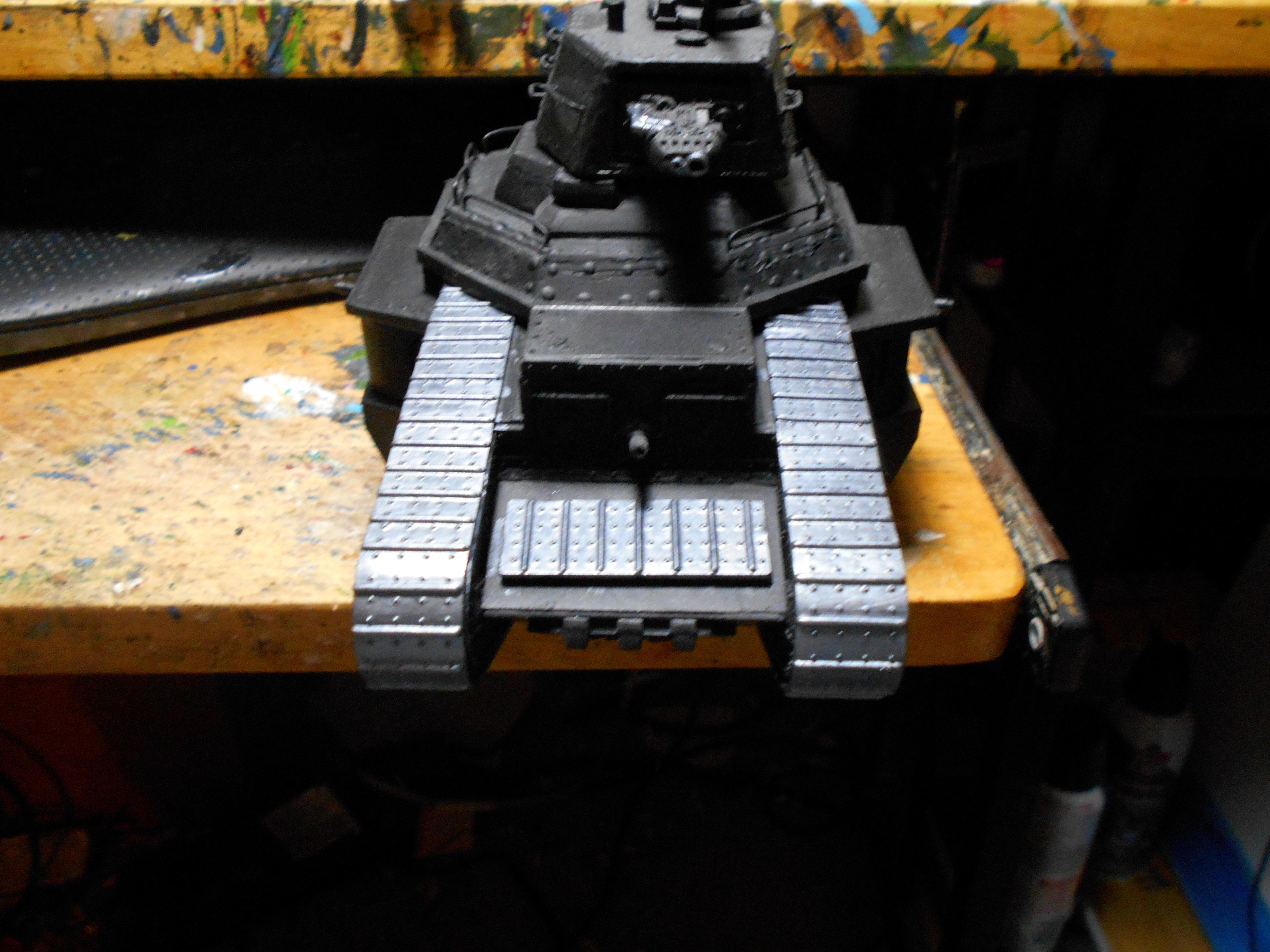 Armor, Astra Militum, Conversion, Imperial Guard, Scratch Build, Tank, Warhammer 40,000, Warhammer Fantasy