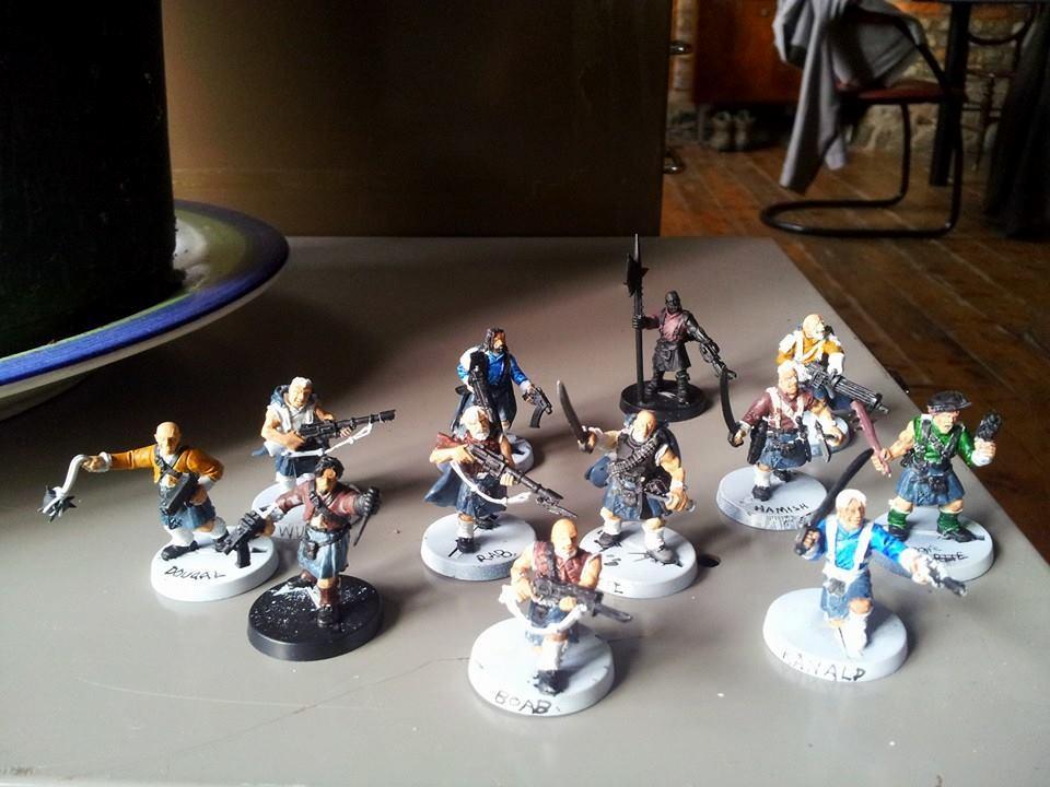 Conversion, Gang, Highlanders, Necromunda, Vic, Victoria, Victoria Miniatures