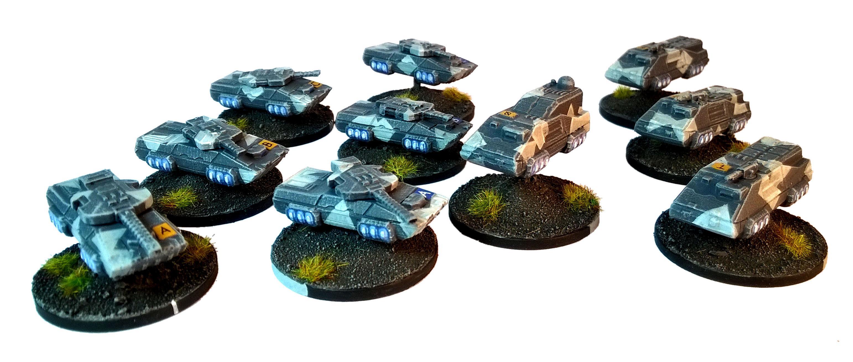 6mm, Brigade, Horizonwars, Models, Omega, Precinct