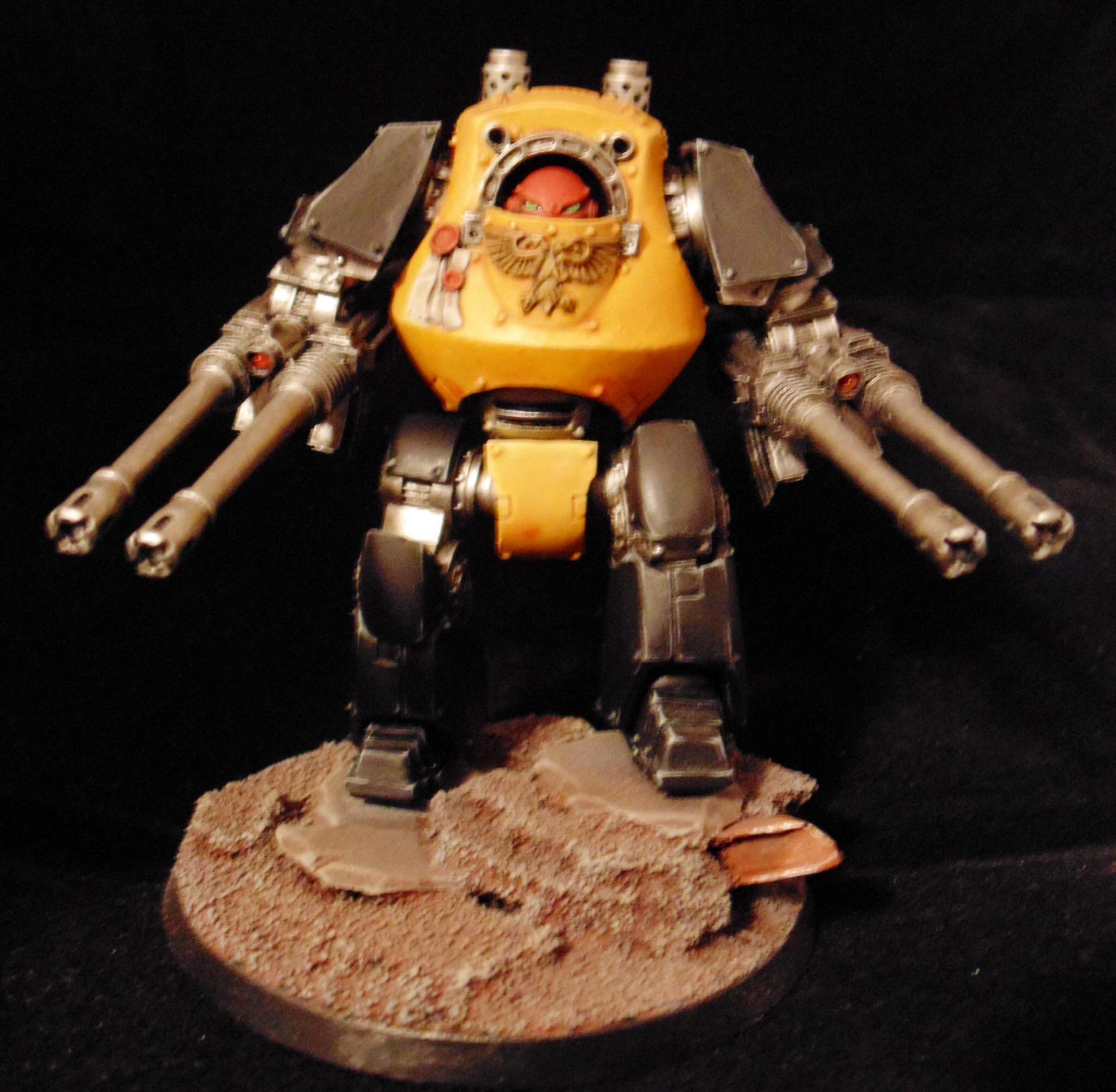 Contemptor, Dreadnought, Scythes Of The Emperor, Space Marines