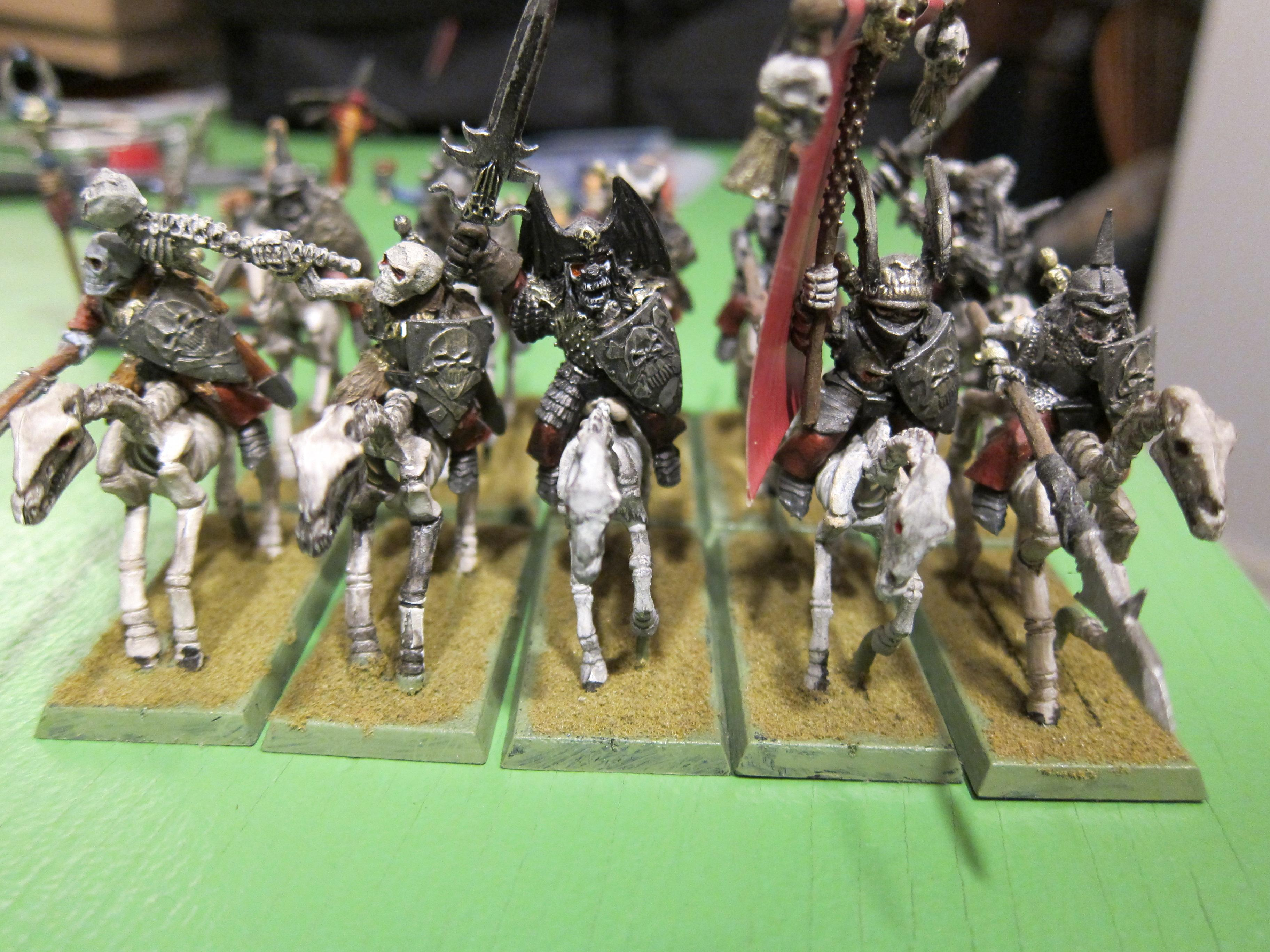 Mounted Wights