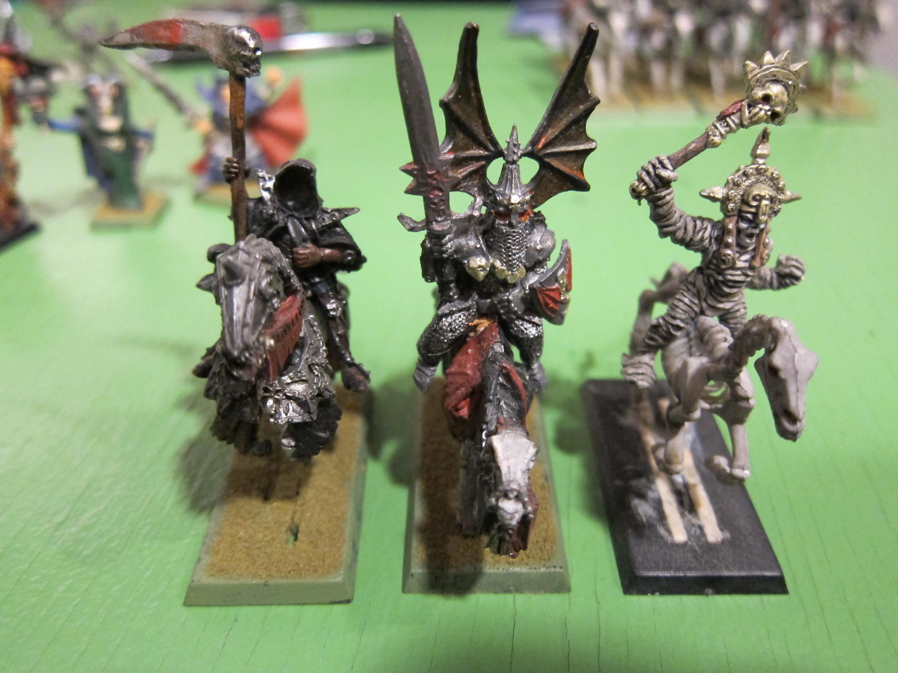 mounted heros