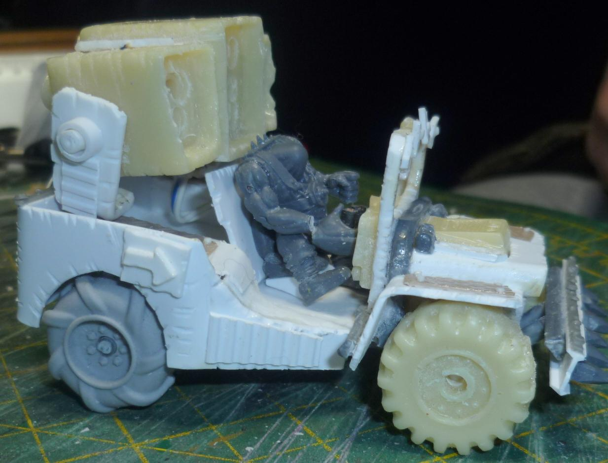 Buggy, Cast, Conversion, Mod, Orks, Resin, Scratch Build