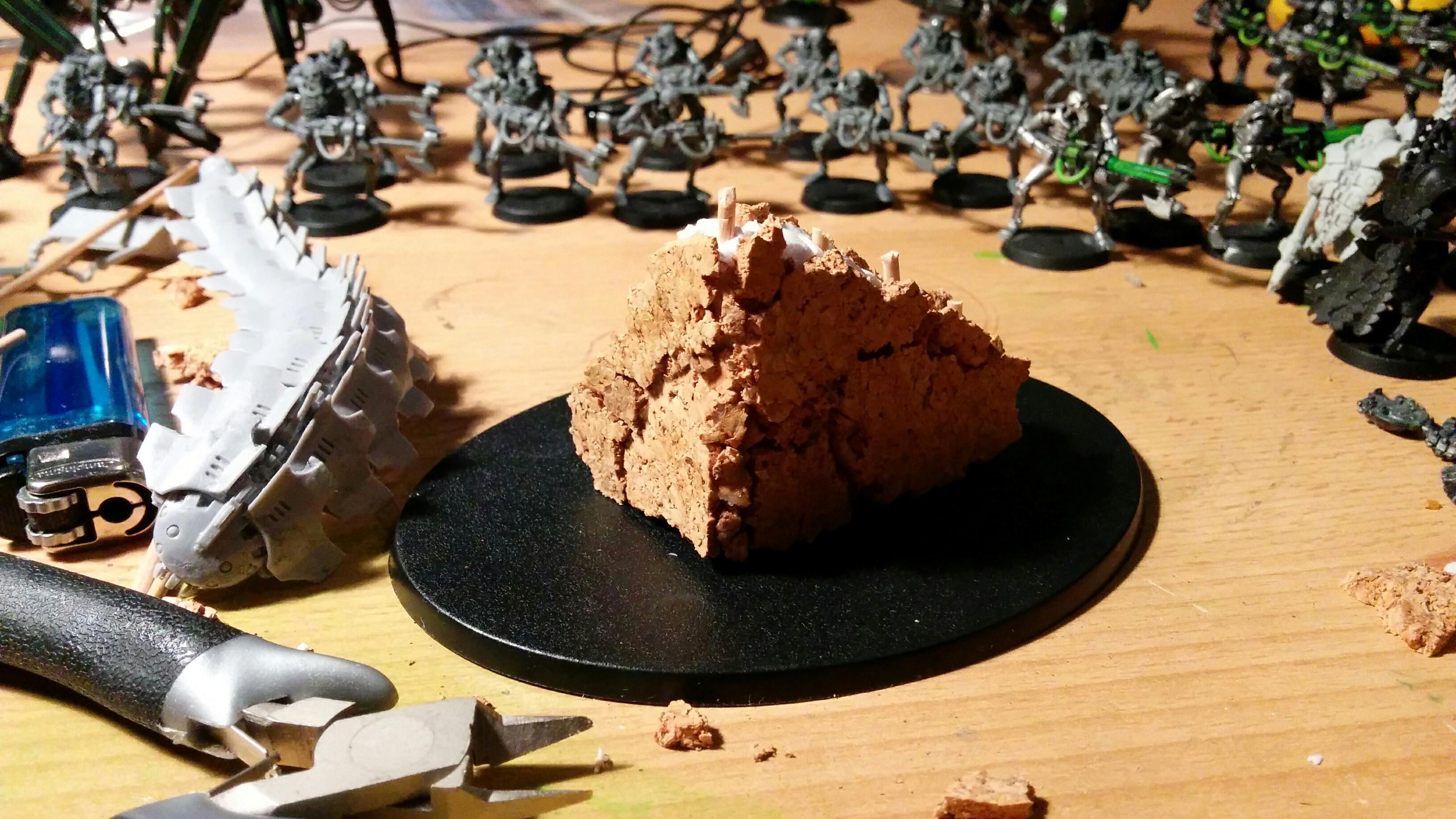 Custom Base, Necrons, Tomb Stalker