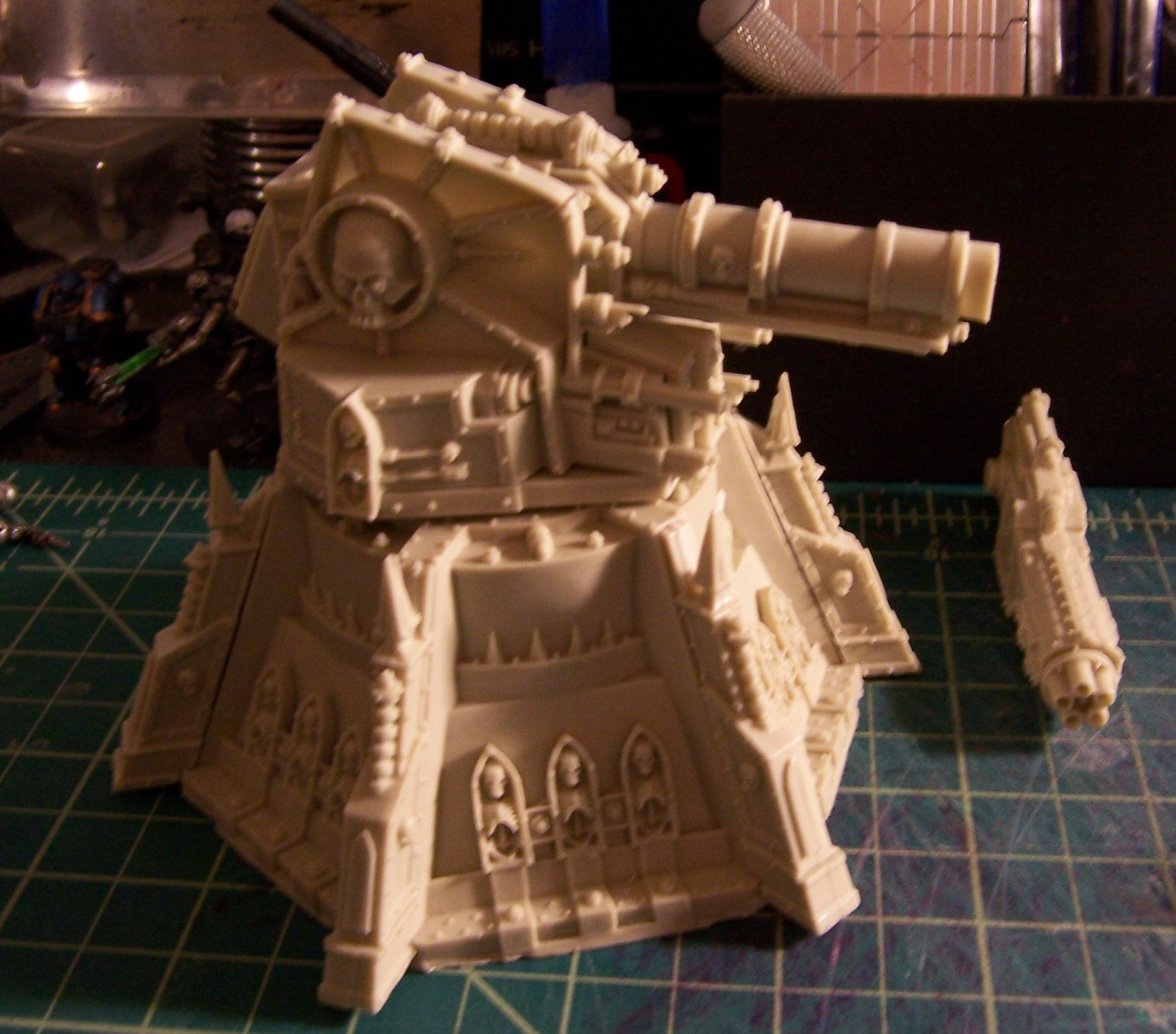 Cannon, Fortification, Imperial Guard, Turret, Vengence Weapons Battery