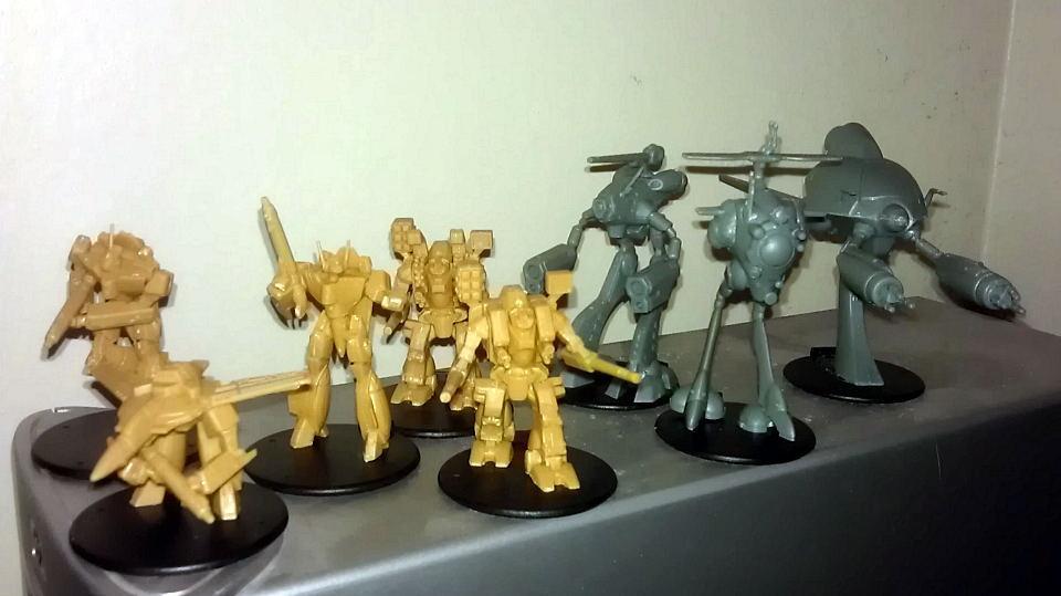 Rrt, Robotech minis