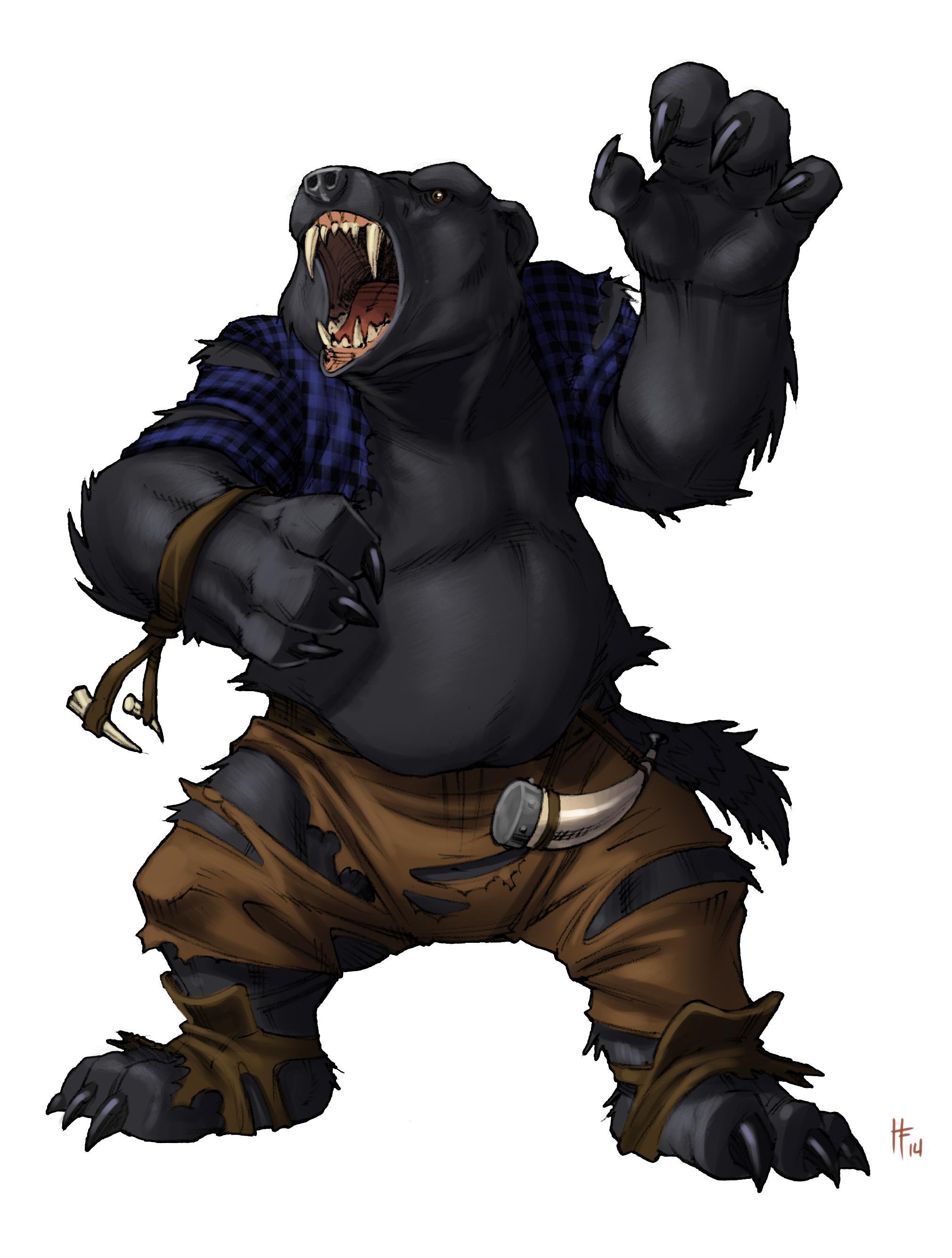 Alpha Skinwalker Bear